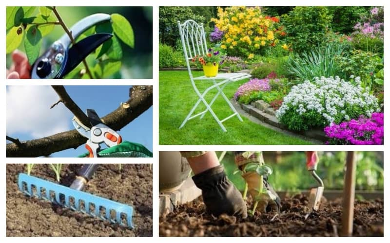 Εργασεις κηπου την Ανοιξη