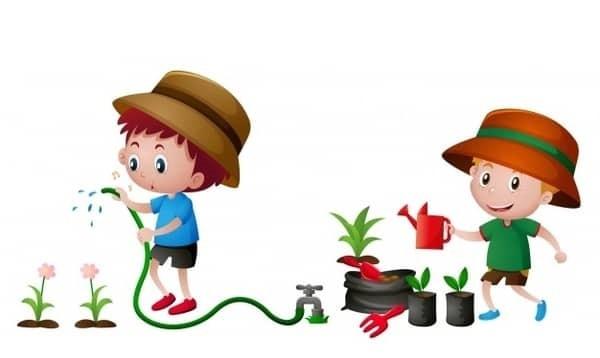 Κηπουρικη για παιδια