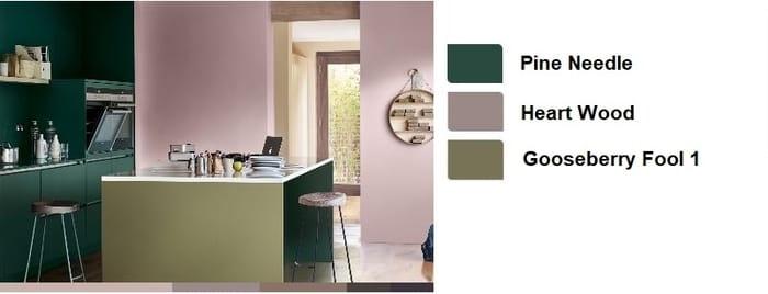 Χρώματα για κουζινα σαλονι