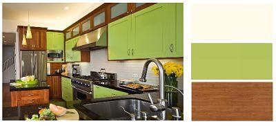 Συνδυασμοι Χρωμάτων για Κουζινα