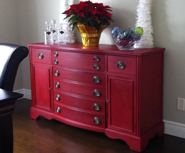 Old Red Chalk Paint