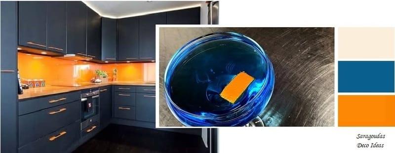 εντονα χρωματα για βαψιμο κουζινας