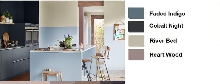 Χρώματα για κουζινα