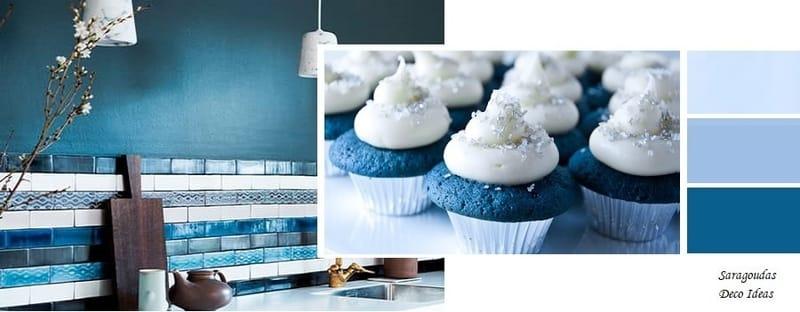 μπλε αποχρωσεις για κουζινες