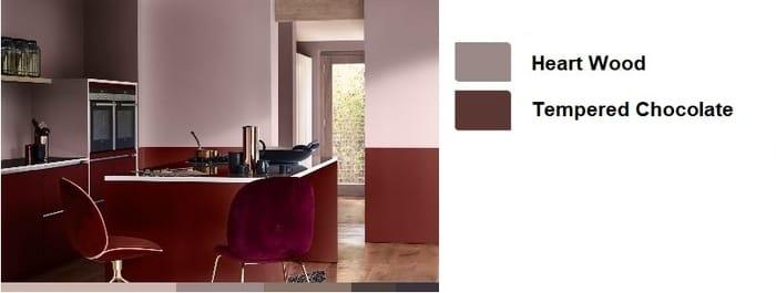 Μοντέρνα χρωματα κουζινας