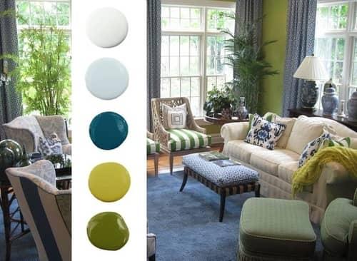 Χρωματα τοιχων συνδυασμοι