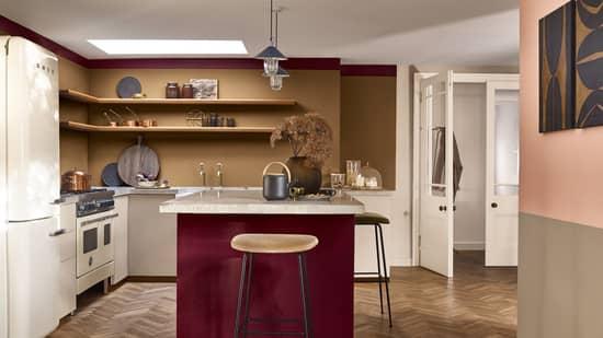 χρωματα τοιχου για κουζινα
