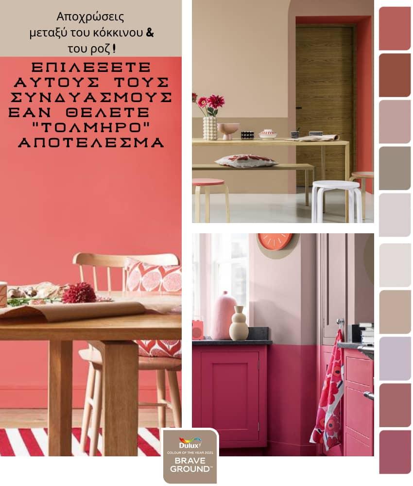 χρωματα τοιχου κουζινας 2021