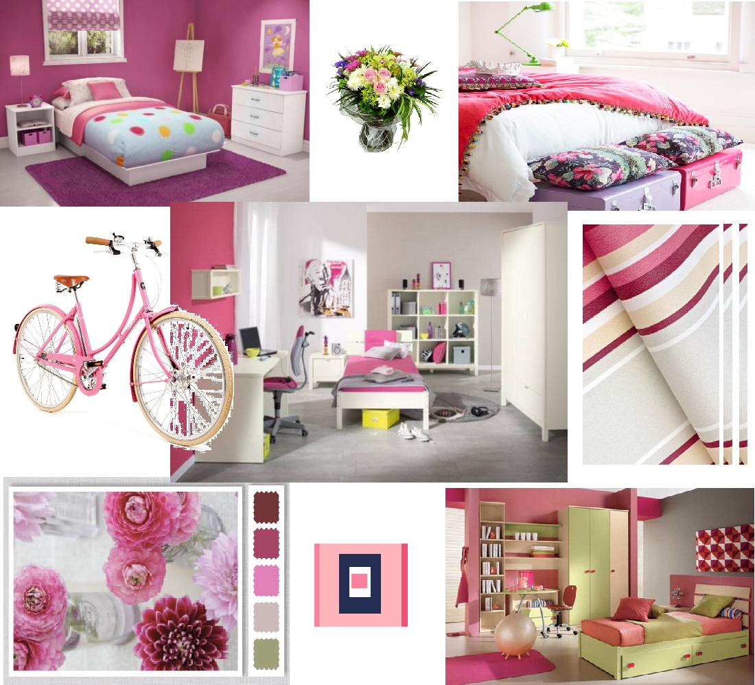 394811d181b Συνδυασμός χρωμάτων για παιδικό δωμάτιο ροζ - saragoudas.gr